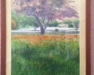 Frank Kinney watercolor