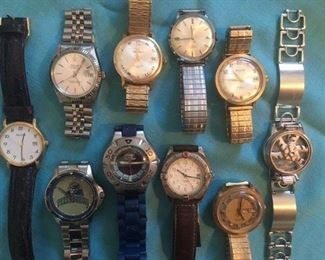 Men's Watch collection (partial selection)