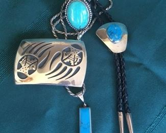 Indian Silver & Turquoise