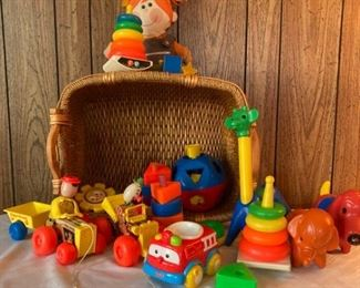 Fisher Price and Playskool Vintage Toy Lot