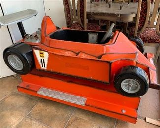 1970's Formula One Kiddie Ride