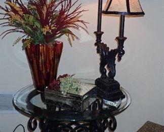 GLASS TABLE - DOUBLE LIGHT TABLE LIGHT
