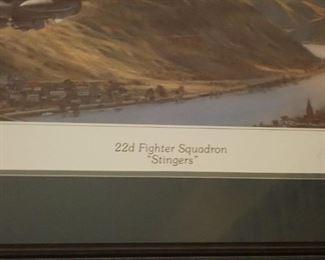 22D FIGHTER SQUADRON STINGERS