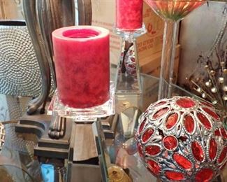 CANDLE HOLDERS - ORBS