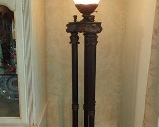 LARGE COLUMN FLOOR LAMP