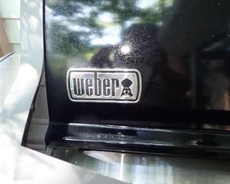 WEBER GRILL WITH COVER
