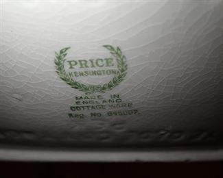 PRICE ENGLAND COTTAGE TEA SET
