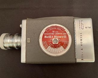 Bell and Howell 16 MM Magazine Camera - 200
