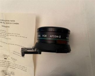 Demur telephoto lens for AF35M-II  made in Japan