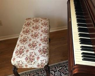with Baby Grand Piano  bench Not on Premises but near by for a Looksie