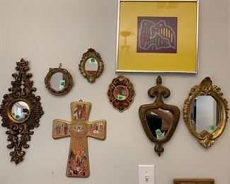 Misc wall Mirrors, Wall Art all Vintage and Antique