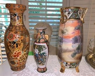 Nipon Vase and all kinds of Vintage  Decor Acccessories