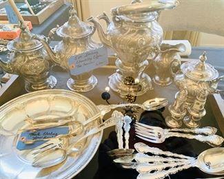 Chantilly Sterling Tea Service