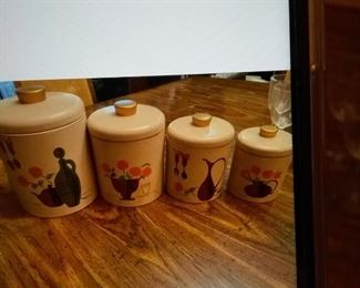 Vintage canister sets
