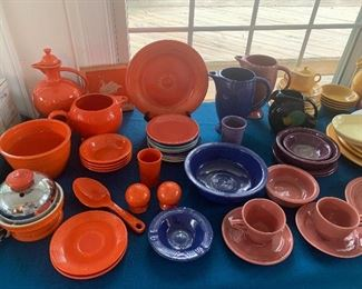 Old and new Fiestaware