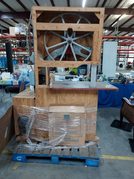 Antique band saw-