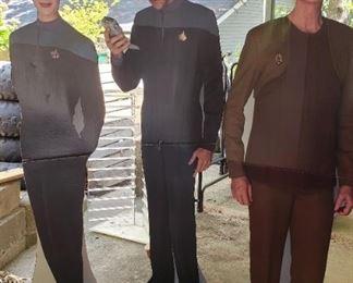 Star Trek life size figures