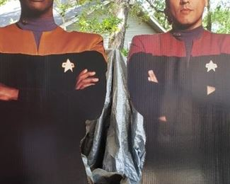 Star Trek life size characters