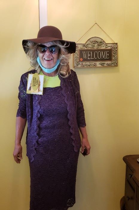 Everyone WELCOME - our greeter