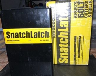 Snatch Latch Trailer Door Security Lock (new in box)