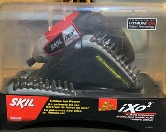 Skil iXo2 Cordless Smart Charge System Palm Size Screwdriver