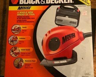 Black & Decker Mouse Sander/Polisher (New in Box)
