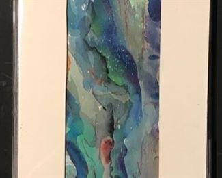 """""""High Foam"""" Original Art by Jane Paden 16 x 8"""