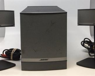 Bose champions 5 by multimedia media system.