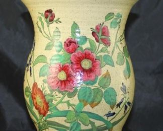 Spode Copeland hand turned pottery vase from England