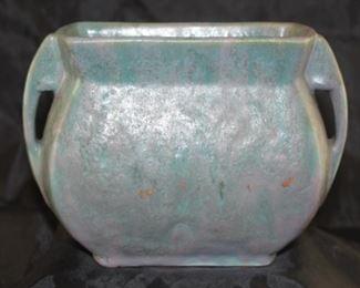 "Rare Roseville pillow vase 1915 to 1920 ""Carnelian II"" #64-2"