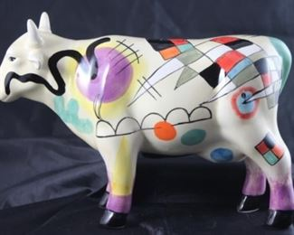 La Moola Ceramic Cow Bank by De Graft