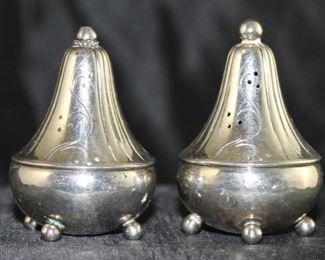 George Jensen Denmark sterling individual shakers three pairs