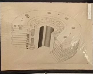 Original Pencil Art by Jane Paden 20 x 15