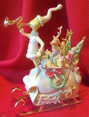 "LENOX Dr. Seuss ""Return to Whoville"" Porcelain Figurine (7.5""H)"