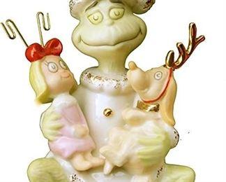 """LENOX Dr. Seuss """"Spirit of Grinchmas"""". Porcelain Ornament"""