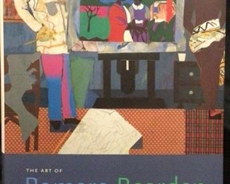 The Art of Romare  Bearden by Ruth Fine.                       One of the nation's most unique artistic voices finds expression in this fascinating retrospective of his work, illuminating his groundbreaking work in collages, photastats, watercolors, gouaches, and oils, including examples of his lesser-known landscape painting, sculpture, costume designs, and much, much more. 17,500 first printing.