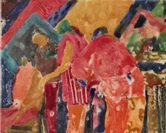 "Jane Paden Original Art 10"" x 8"""
