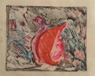 "Jane Paden Original Artwork (12"" x 9"")"