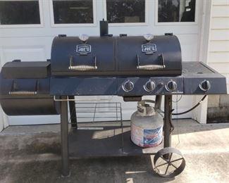 Oklahoma Joe Gas Charcoal Smoker Grill