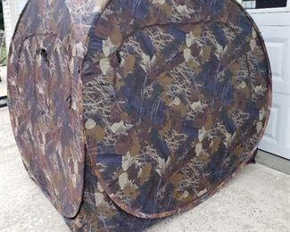 Pop up Hunting blind tent