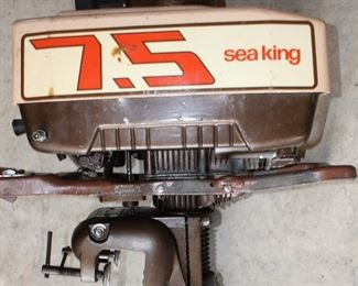 As is as found Sea King 7.5 hp outboard