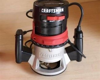 Craftsman 1.5hp router w case