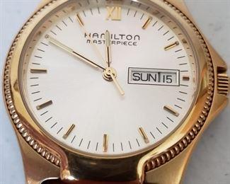 Hamilton masterpiece watch mint condition