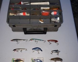 Packed tackle box