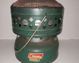 Coleman heater clean.