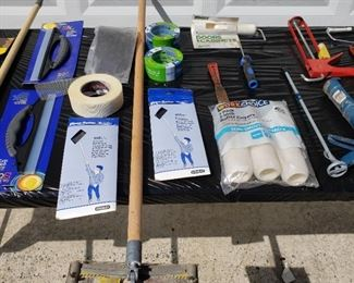 painting supplies lot clean