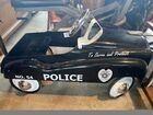 Police Pedal Car