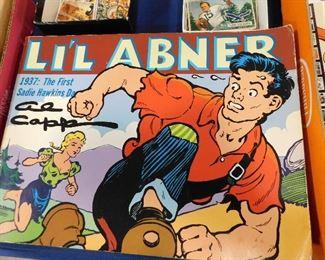 Li'l Abner comic books
