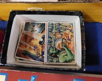 Vintage non sport trading cards