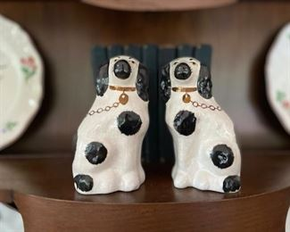 Authentic Staffordshire dogs (not repros)